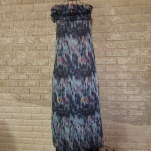 Gorgeous multicolored sleeveless dress